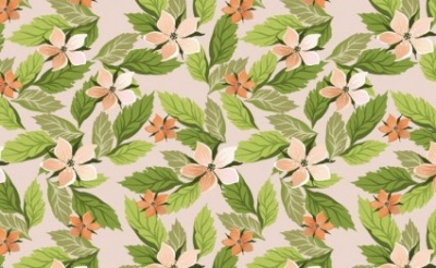 Free vector Vector floral  Floral With Leaves