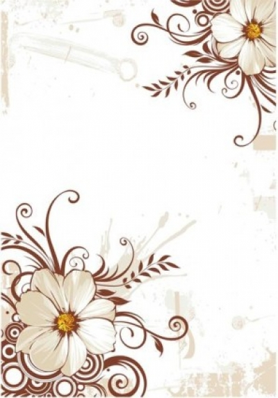Free vector Vector background  Flower Background