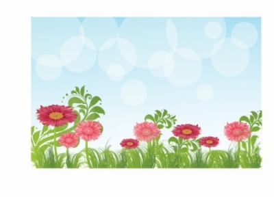 Free vector Vector flower  Flower Background