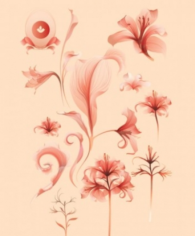 Free vector Vector trust to nature  Flower Vector