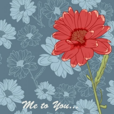 Free vector Vector flower  flowers background 04 vector