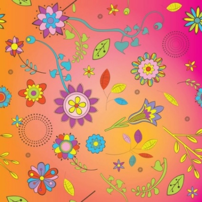 Free vector Vector background  Flowers Background Vector