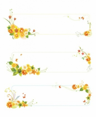 Free vector Vector flower  Flowers banners