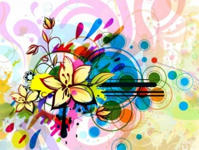 Free vector Vector flower  Flowers Composition
