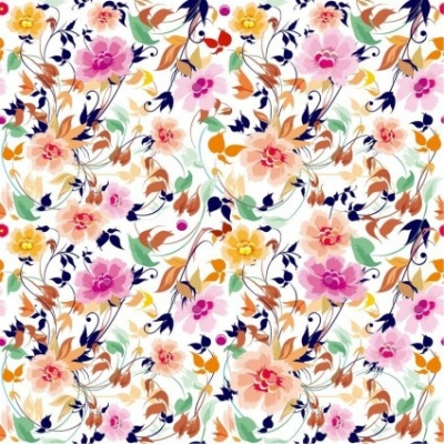 Free vector Vector pattern  Flowers Seamless Pattern Element Vector Background