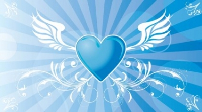 Free vector Vector Heart  Flying Heart Vector