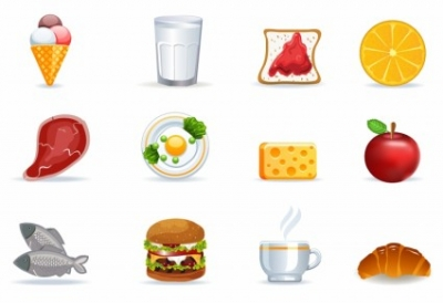 Free vector Vector icon  Food icons