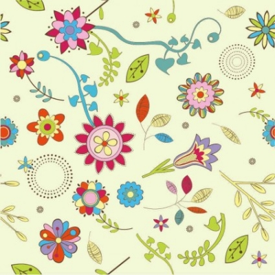 Free vector Vector background  Free Abstract Flower Pattern Background