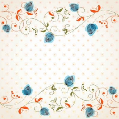 Free vector Vector background  Free Beautiful flowers background