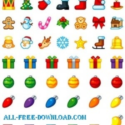 Free vector Vector icon  Free Christmas Icons For You