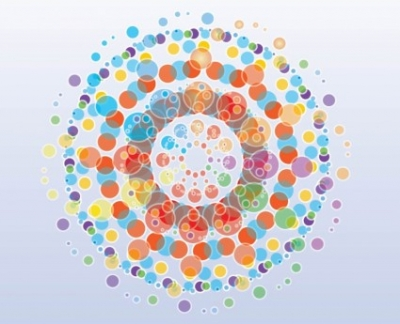 Free vector Vector background  Free Colorful Circles Background