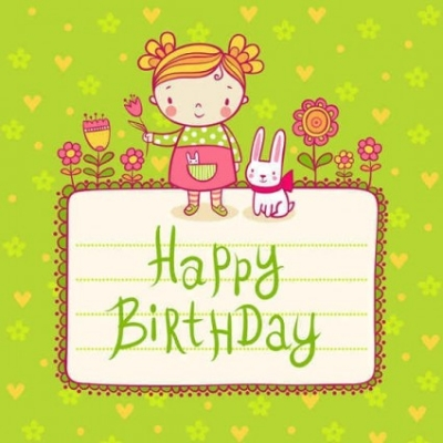 Free vector Vector background  Free Cute playful card templates