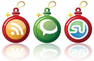 Free vector Vector icon  Free Early Christmas Social Networking Vector Icons