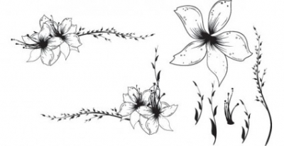 Free vector Vector flower  Free Floral Clip art Vector