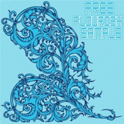 Free vector Vector misc  Free Flourish Sample