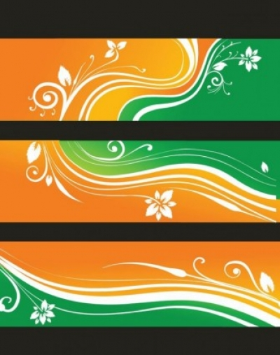 Free vector Vector banner  Free Flower Banners Vector Illustration