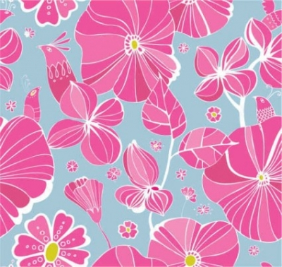 Free vector Vector background  Free Flowers background
