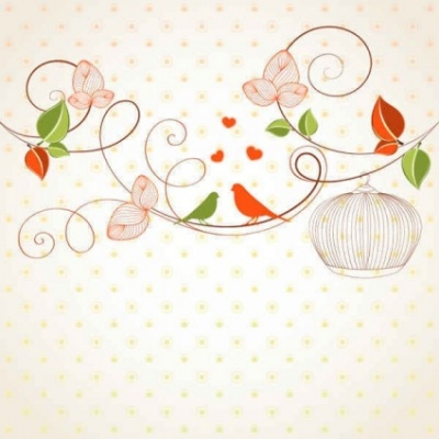 Free vector Vector background  Free flowers Vector background