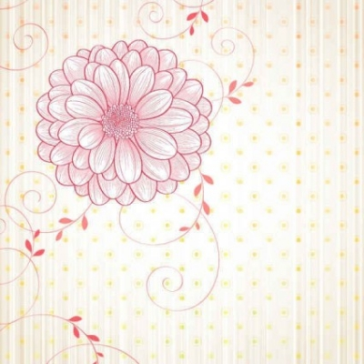 Free vector Vector background  Free flowers vectors background