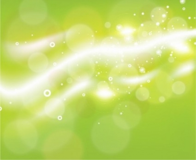 Free vector Vector abstract  Free Green Bokeh Abstract Light Background Vector Illustration