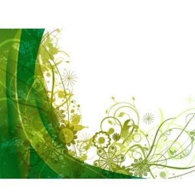 Free vector Vector background  Free green vector summer background