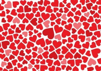 Free vector Vector background  Free Hearts Background Vector