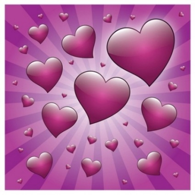 Free vector Vector Heart  Free Valentine Heart with Rays Vector Graphic