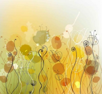 Free vector Vector background  Free Vector Abstract Floral Background