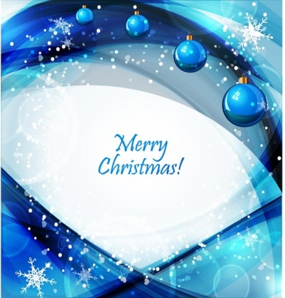 Free vector merry christmas light and snowflake celebration background Free vector 890.53KB