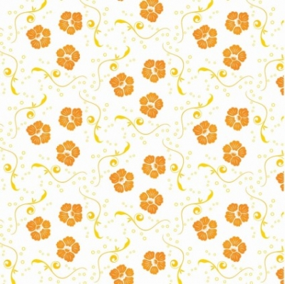 Free vector Vector floral  Free Vector Ornamental Floral Pattern