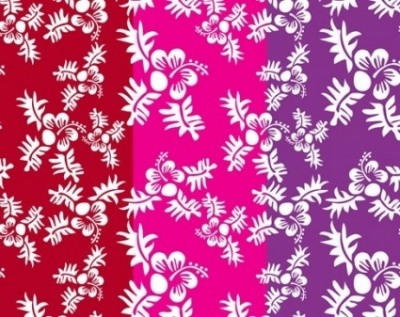 Free vector Vector pattern  Free Vector Seamless Flower Pattern