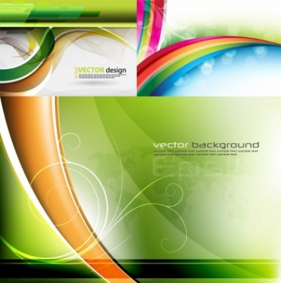 Free vector Vector background  fresh background poster vector
