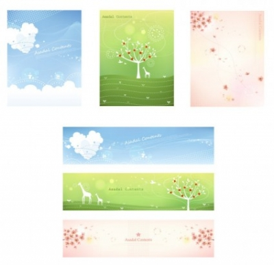 Free vector Vector background  Fresh floral vector background