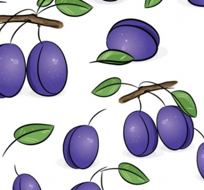 Free vector Vector background  fruit tiled background vector 4