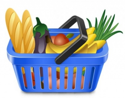 Free vector Vector misc  fruits and vegetables and shopping basket 05 vector