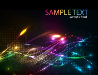 Free vector Vector abstract  Futuristic Abstract Glowing Light Curves Background Vector Illustration