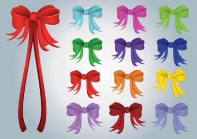 Free vector Vector misc  Gift Ribbons