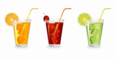 Free vector Vector misc  Glass of fruit Juice with ice