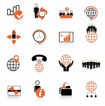 Free vector Vector icon  Global Business Icons