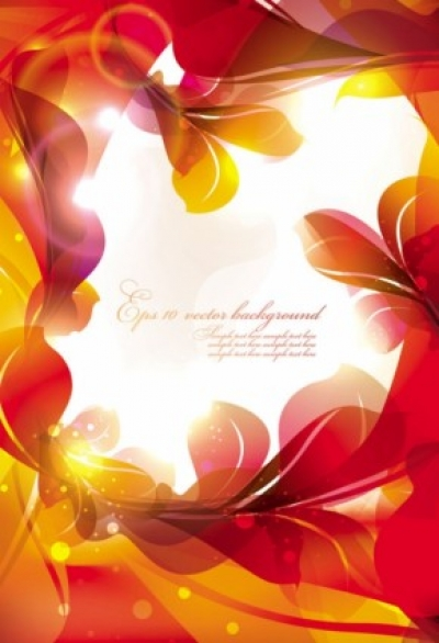 Free vector Vector background  glow bright floral pattern background 05 vector