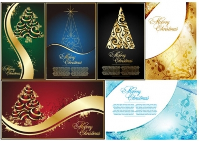 Golden christmas tree vector Free vector 16.75MB