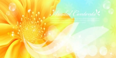 Free vector Vector background  Golden flowers banners vector Background