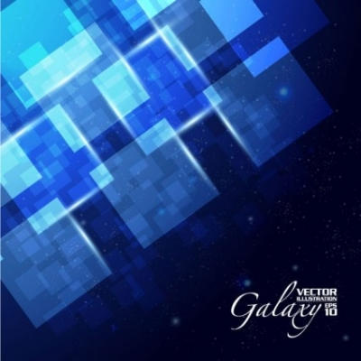 Free vector Vector background  gorgeous blue glare background 04 vector