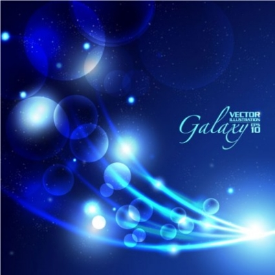 Free vector Vector background  gorgeous blue glare background 05 vector
