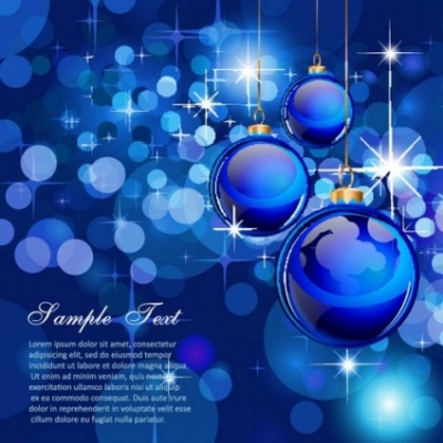 Free vector Vector background  gorgeous christmas background 04 vector