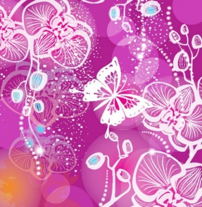 Free vector Vector background  gorgeous pattern background 01 vector
