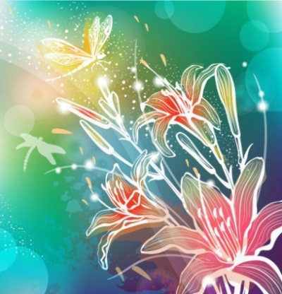 Free vector Vector background  gorgeous pattern background 03 vector