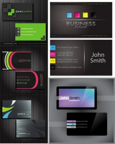 Free vector Vector misc  gorgeous simple business card templates vector