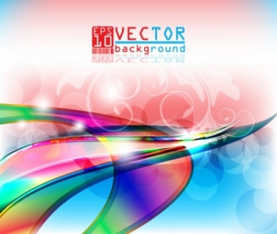 Free vector Vector background  gorgeous threedimensional background 05 vector