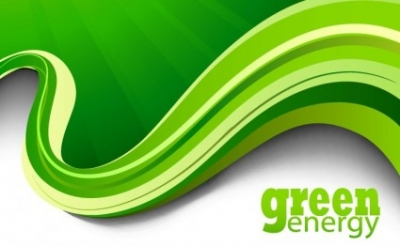 Free vector Vector background  Green Abstract Background